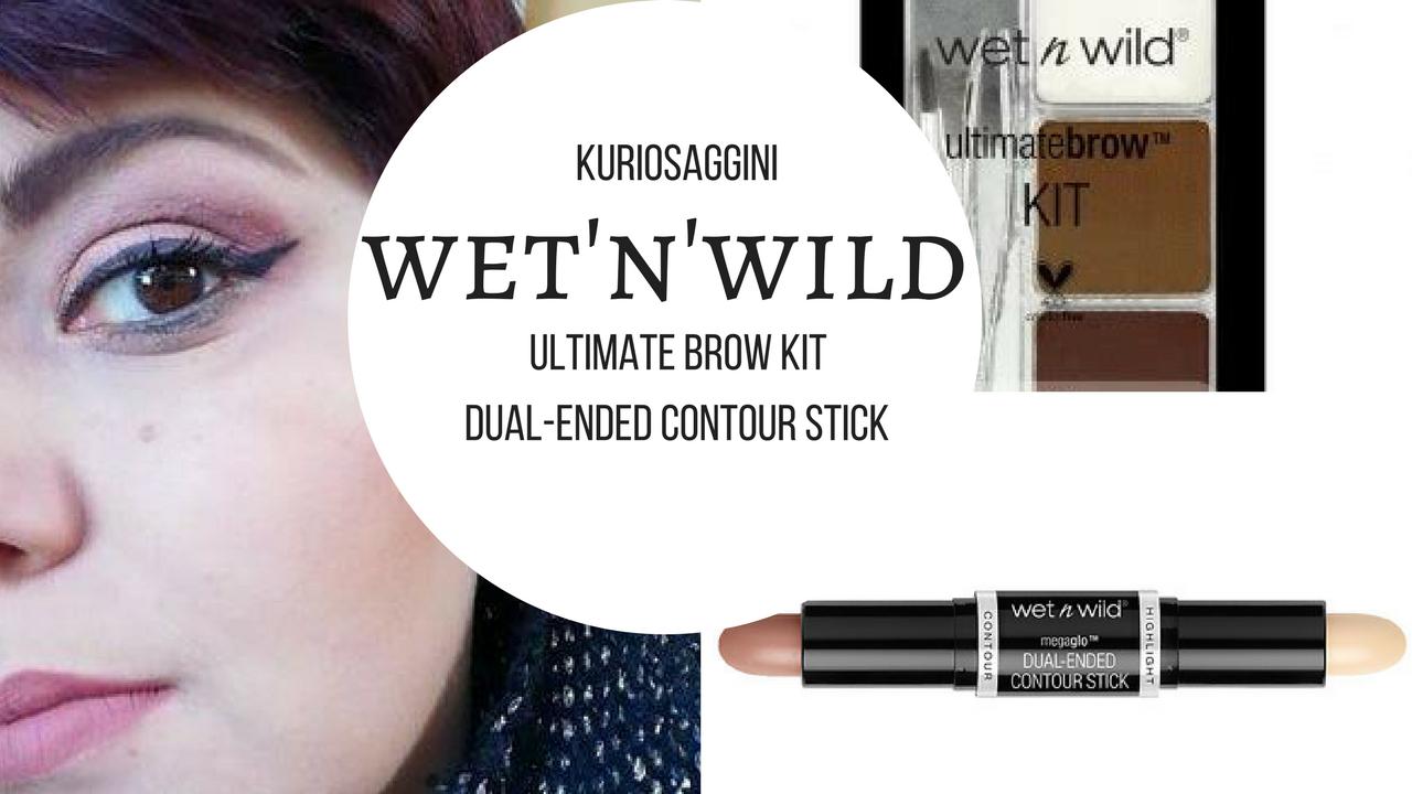 Wetnwild Brow Kit E Contour Stick Wet N Wild Mega Glo Dual Ended Light Medium